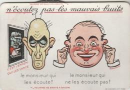 """Guerre 14/19 : Carte à Système - """"N'écoutez Pas Les Mauvais Bruits"""" - 7 Fenêtres Différentes. (TTB) - Guerre 1914-18"""