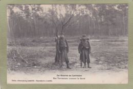 GUERRE EN LORRAINE NOS TERITORIAUX MONTANT LA GARDE - Guerre 1914-18