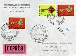 O40 Europa 1968 - Luxembourg  - FDC Exprès    TTB - European Ideas