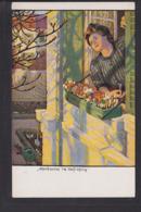 A28x /    M. Eichler Hirth Jugend Postkarte / Vorfrühling - Altre Illustrazioni