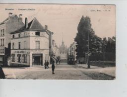 """CBPNCPB39/ Belgique-België CP Ixelles (BXL) Brasserie  """"IN DE STER"""" Chaussée D'Ixelles Animée """" TRAM """" - Ixelles - Elsene"""
