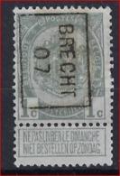 RIJKSWAPEN Nr. 81 Voorafgestempeld Nr. 972B Brecht 1907 ; Staat Zie Scan ! - Precancels