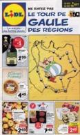 Publicité Astérix Le Tour De Gaule Des Régions Lidl 2019 - Libri, Riviste, Fumetti