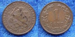 NETHERLANDS - 1 Cent 1900 Large Date KM# 107 WiIhemina (1890-1948) Bronze - Edelweiss Coins - [ 3] 1815-… : Regno Dei Paesi Bassi
