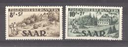 Sarre  :  Yv  250-51  ** - 1947-56 Gealieerde Bezetting