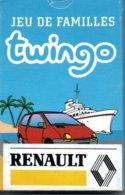 RENAULT TWINGO Jeu  De 7 Familles  32 Cartes Publicitaire - Playing Cards TBE - 32 Cards