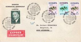 O45 Commission Européenne De L'Union Européenne - Schumann - Europa 1972 - Lettre Express Du 29/4/72  TTB - European Ideas