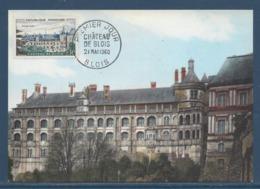 France - Carte Maximum - Château De Blois - 1960 - Maximum Cards