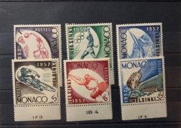 9217 - Helsinki 1952 Monaco 6 Timbres Neufs *** MNH - Ete 1952: Helsinki