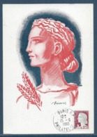 France - Carte Maximum - Decaris - Philatelie - Paris R.P - 1960 - 1960-69