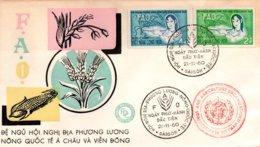 O47 Réunion Du Comité Exécutif De La FAO à Saigon (Vietnam)  1960  TB - Against Starve