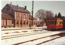 Gare Raeren Vennbahn 1985 Foto  (3042) - Raeren