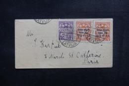 LETTONIE - Petite Enveloppe Pour La France En 1932, Affranchissement Plaisant Dont Surchargés - L 48019 - Lettonie