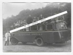 PHOTO - AUTO CARS FRANCO BELGE - Excursion  à LOURDES  - Transport - - Auto's