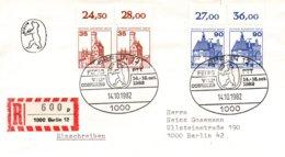 O52  Fédération Europ. Des Fonctionnaires Adm. Sup. Des PTT - VIII. Congrès Berlin 1982  Recommandé  TTB - European Ideas