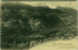 CPA FRANCE - L'ARGENTIERE - VUE GENERALE - EDIT LAMBERT / PHOT. PERRIN - 1910s (BG6004) - L'Argentiere La Besse