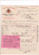 16-E.Merlin Fils & Co..Union Viticole De La Charente.... Jarnac-Cognac..(Charente)..1918 - Francia