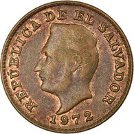 Monnaie, El Salvador, Centavo, 1972, British Royal Mint, TTB, Bronze, KM:135.1 - Salvador