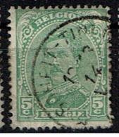 137B  Obl Relais  Soheit-Tinlot - 1915-1920 Albert I