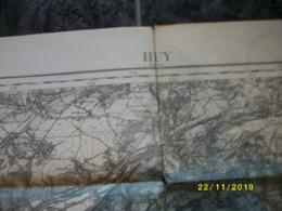 Carte Topographique De Huy - Hoei (Moha - Wanze - Terwagne - Modave - Haltinne - Andenne) - Topographical Maps