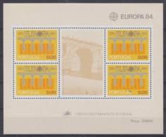 Europa Cept 1984 Portugal M/s ** Mnh  (45255) - Europa-CEPT