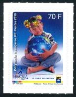 POLYNESIE 2010 - Yv. 928 **   Faciale= 0,59 EUR - Honotua, Câble Sous-marin (Autoadhésif)  ..Réf.POL24881 - Polynésie Française