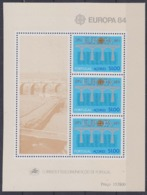 Europa Cept 1984 Azores M/s ** Mnh (45255) - Europa-CEPT