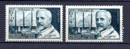 FRANCE LOT DE 2 TIMBRES DE 1948 N 814 NEUF ** 1ER CHOIX - Unused Stamps