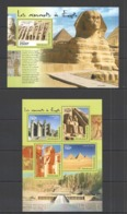 TG423 2014 TOGO TOGOLAISE ART HISTORY EGYPT MONUMENTS KB+BL MNH - Monumenti
