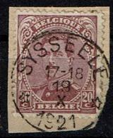 140 Paire  Obl Relais  Sysseele - 1915-1920 Albert I