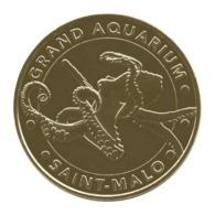 Monnaie De Paris , 2017 , Saint Malo , Grand Aquarium , Le Poulpe - Monnaie De Paris