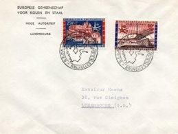 O59  CECA - EGKS - Exposition Universelle Bruxelles 1958 - Journée De L'Europe 9/5/1958  TTB - European Ideas