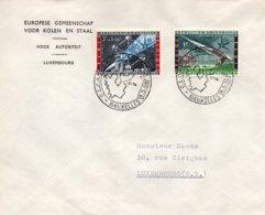 O60  CECA - EGKS - Exposition Universelle Bruxelles 1958 - Journée De L'Europe 9/5/1958  TTB - European Ideas