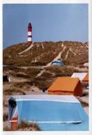 Photo Couleur B.B. Originale Camping Sur L'Île D'Amrum Au Pied Du Phare D'Amrum En 1971 - Luoghi