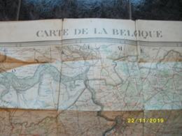 Topografische / Stafkaart Van België - Belgique (deel Van Grote Kaart - Provincie Antwerpen En Brabant) - Cartes Topographiques