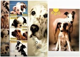 # Ghana 2007**Mi.3931-35  Dogs , MNH [17;8] - Dogs