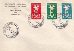 O61  CECA - EGSK - Europa 1958 FDC Luxembourg TTB - European Ideas