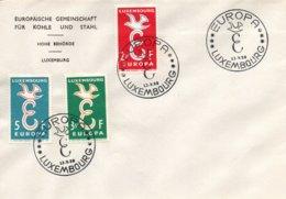 O62  CECA - EGSK - Europa 1958 FDC Luxembourg TTB - European Ideas