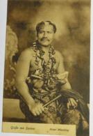 C. P. A. : Grusse Von SAMOA, Hoher Häuptling, High Chief, RARE - Samoa