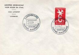 O64  CECA - EGSK - Europa 1958 - 30/10/58 Journée De Européenne à Luxembourg TTB - European Ideas
