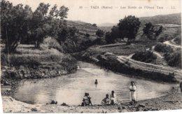 B61435 Cpa Taza - Les Bords De L'Oued Taza - Maroc