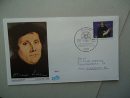 GERMANY FDC  COVERS 1983  MARTIN LUTHER - Martin Luther King