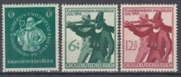 DR 896-898, Postfrisch **, Albertina Königsberg + Landesschießen, 1944 - Allemagne