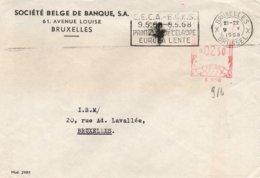 O68 CECA - EGSK - Flamme Du 9.V.58 De Bruxelle Pour Le VIII Anniv. De La CECA  (Printemps De L'Europe)  TTB - European Ideas
