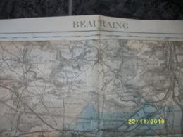 Carte Topographique De Beauraing (Sautoup - Agimont - Heer - Givet - Chooz - Vireux - Dourbes) - Cartes Topographiques