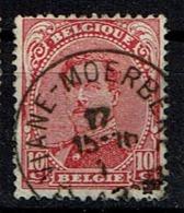 138  Obl Relais  Vanne-Moerbeke - 1915-1920 Albert I
