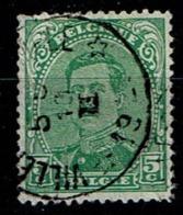 137A  Obl Relais  Villers-le-Temple - 1915-1920 Albert I