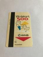 Sweden - Transport Ticket / Card - Svezia