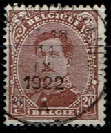 140C  Obl Relais  Vorst (Kampen) (Campine) - 1915-1920 Albert I