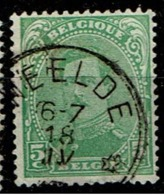 137  Obl Relais  Weelde - 1915-1920 Albert I